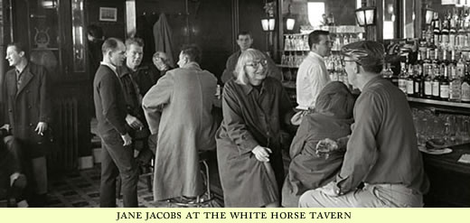 jane jacobs at the white horse tavern