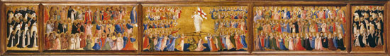 Choir of Heaven, Fra Angelico