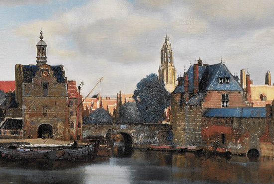 View of Delft - detail