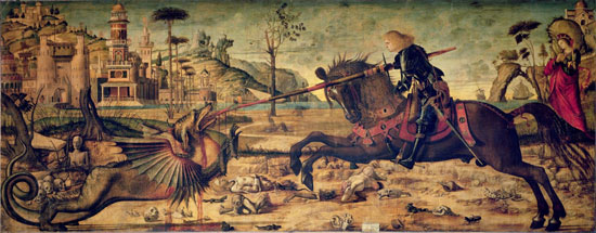 Vittore Carpaccio, St. George and the Dragon