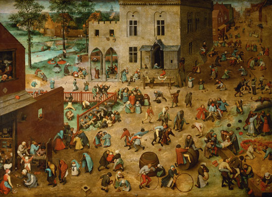 Pieter Bruegel, Children's Games