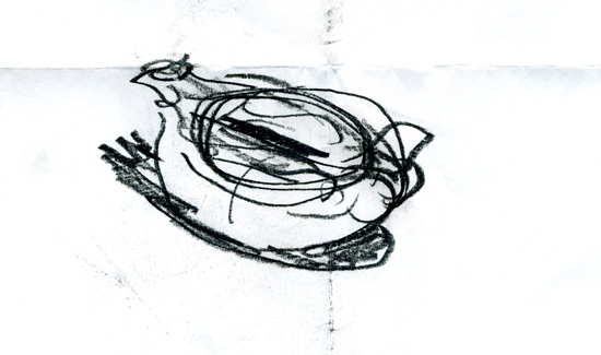 Sketch of an Etruscan Lamp