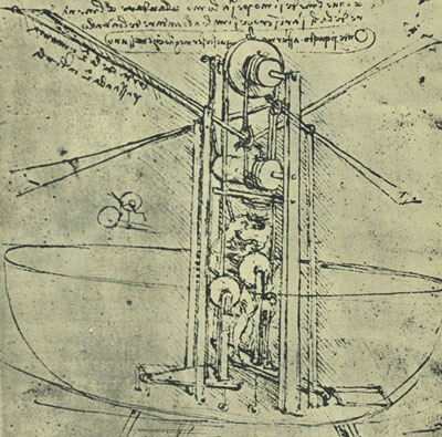Leonardo da Vinci, contraption