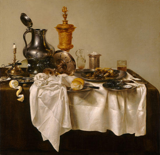 Still Life with Mince Pie, Willem Claesz. Heda