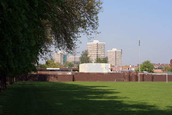 Cambridge Estate from Norbiton Rec.