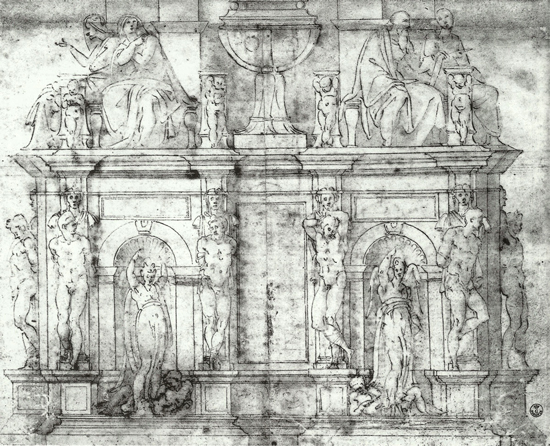 Study for the Tomb of Julius II of 1513