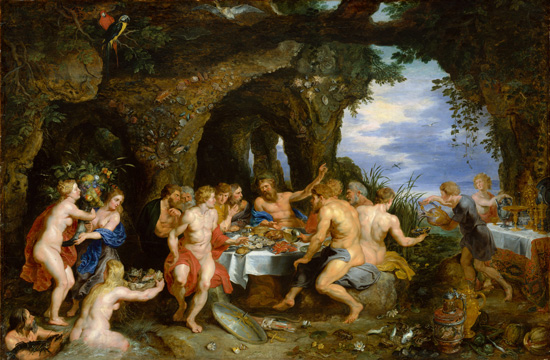 Feast of Acheloüs, Rubens and Jan Breughel