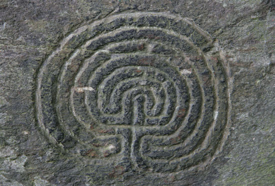 Rocky Valley Labyrinth, Tintagel, Cornwall