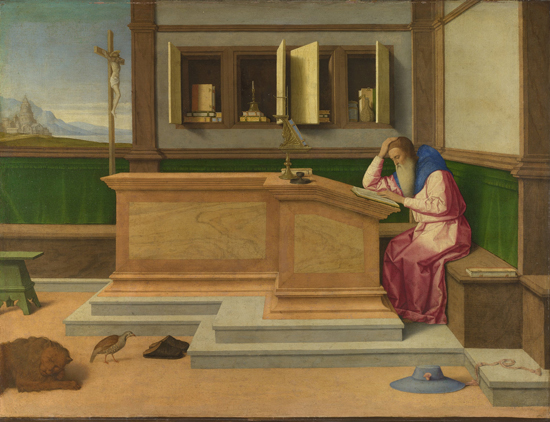 St. Jerome in his Study, Vincenzo Catena